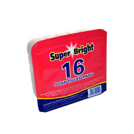 Superbright 16 Soap Pads