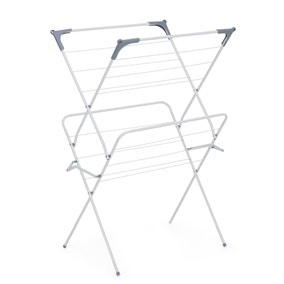 White 2 Tier Room Airer