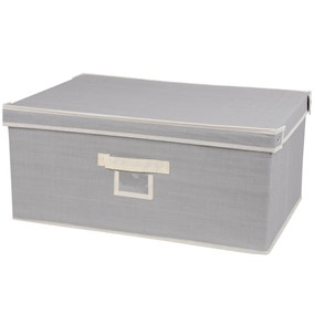 Large Grey Storage Box