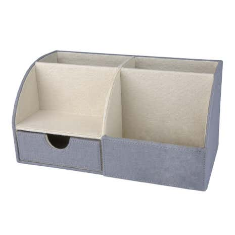 Purity Grey Desk Organiser