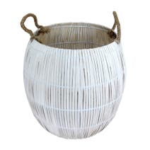 Purity Round Natural Basket