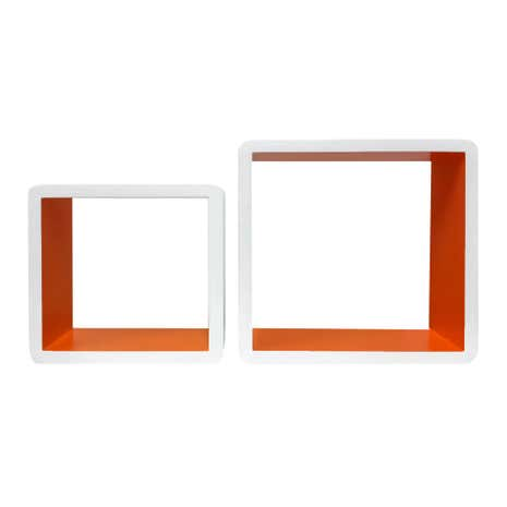 Set of 2 Square Shelves