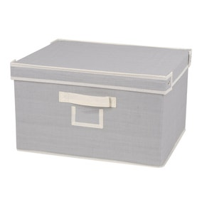 Small Grey Storage Box