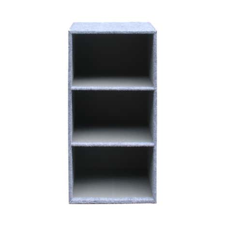 Grey Two Tone 3 Tier Rack