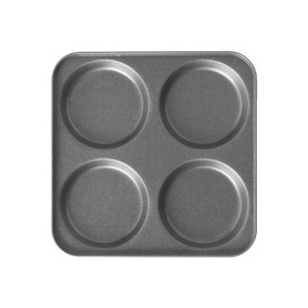 Non Stick 4 Cup Yorkshire Pudding Tin