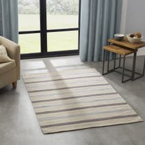 Stripe Dhurry Rug