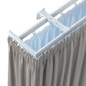 curtain tracks swish curtain tracks valance rails dunelm. Black Bedroom Furniture Sets. Home Design Ideas