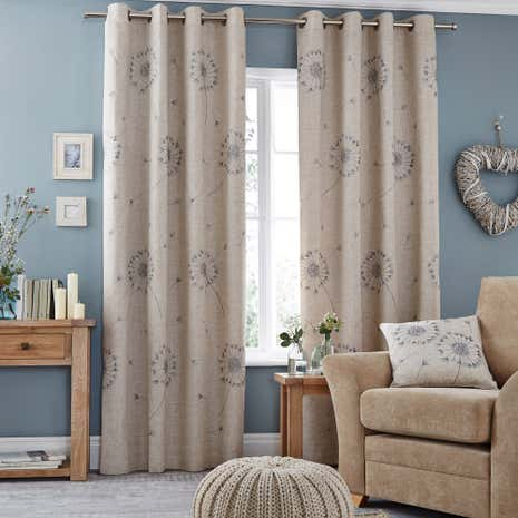 Breeze Duck-Egg Eyelet Curtains