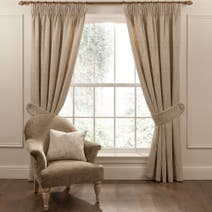 Dorma Regency Natural Line Pencil Pleat Curtains
