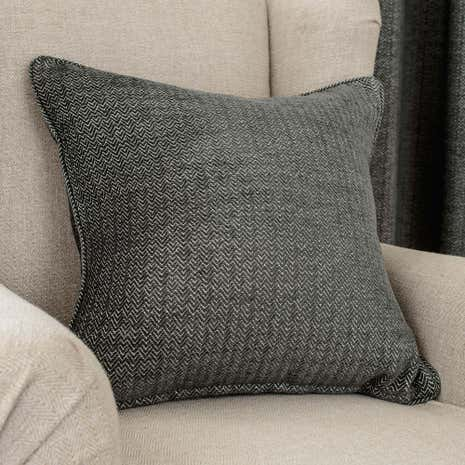 Hotel Naples Charcoal Cushion