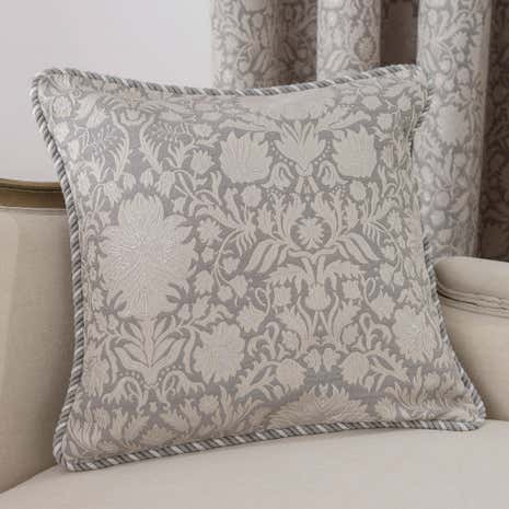 Kensington Silver Cushion