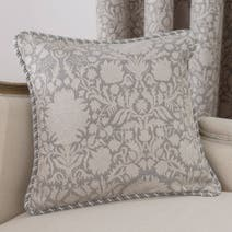Silver Kensington Cushion