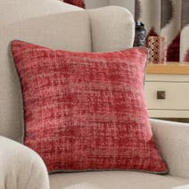 Red Morocco Cushion