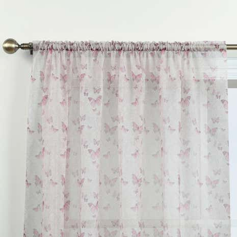 Botanica Butterfly Blush Voile Panel