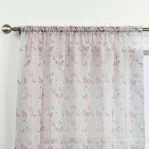 Blush Botanica Butterfly Voile Panel