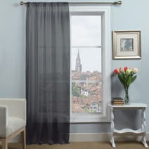 Dynamic Plain Dye Voile Panel