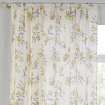 Esme Ochre Sheer Panel