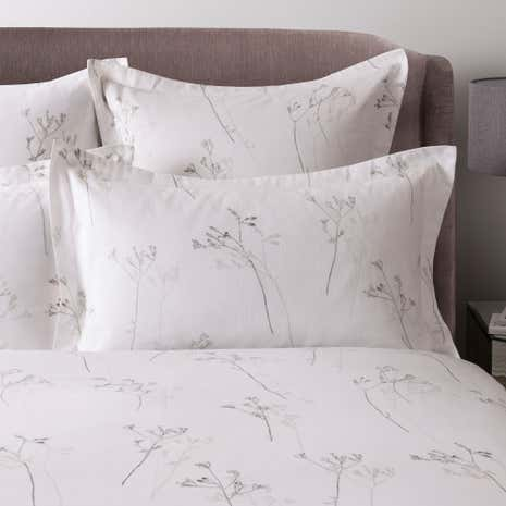 Hotel Parsley White 300 Thread Count Oxford Pillowcase