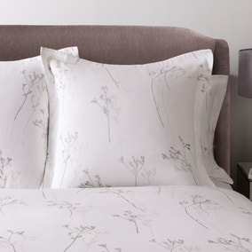 Hotel Parsley White 300 Thread Count Continental Pillowcase
