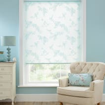 Beautiful Birds Sheer Roller Blind