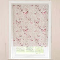 Botanical Butterfly Blackout Roller Blind