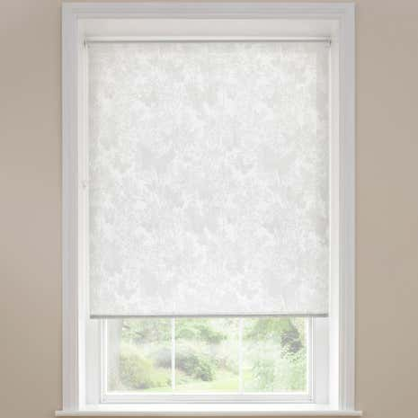 Botanical Butterfly Sheer Roller Blind