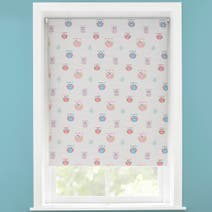 Kids Pretty Owls Blackout Roller Blind