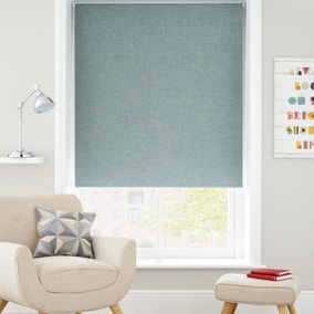 Verona Teal Blackout Roller Blind