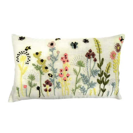 Country Fayre Embroidered Cushion