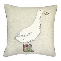 Country Goose Cushion