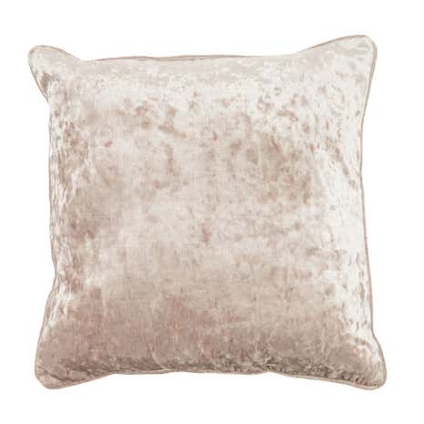 Crinkle Velvet Cushion