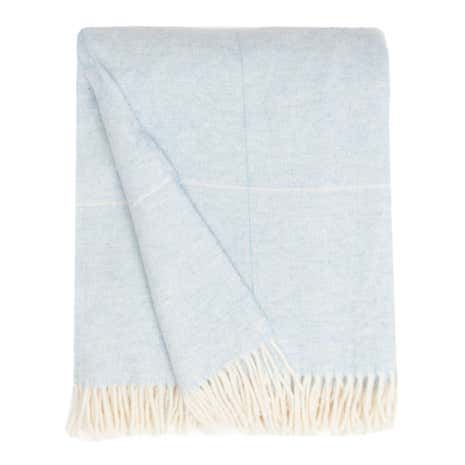 Dorma Duck-Egg Maldon Wool Throw