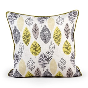 Element Leaves Cushion