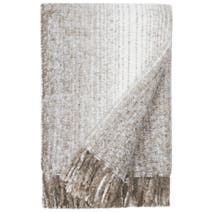 Faux Mohair Ombre Throw