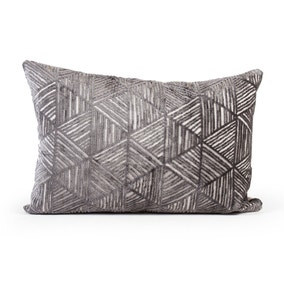 Geo Triangle Repeat Cushion