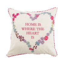 Home Is Where Heart Is Cushion