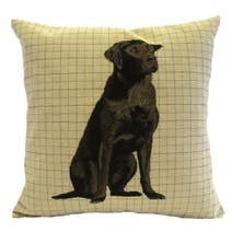 Labrador Tapestry Cushion