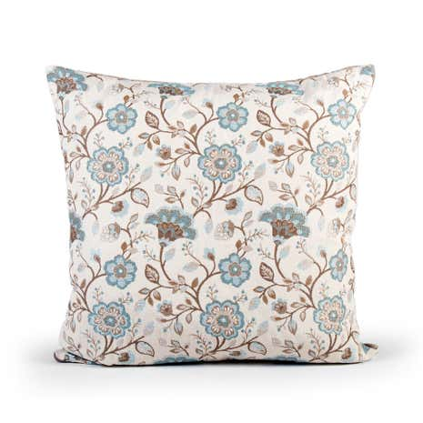 Traditional Floral Cushion