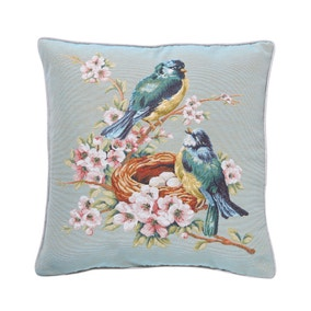 Vintage Bird Nest Cushion