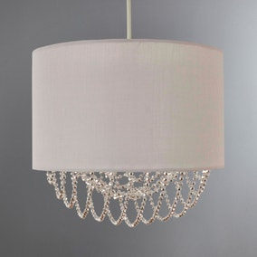 Bryony Beaded Double Diffuser Shade