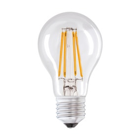 Dunelm LED 6W Filament GLS Edison Screw Light Bulb
