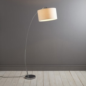 Hadley Chrome Floor Lamp
