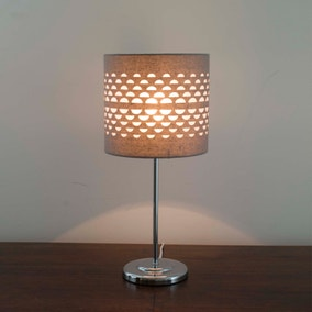 Grey Hanbury Table Lamp
