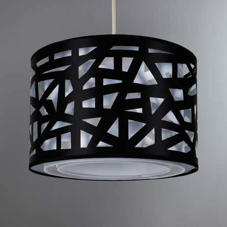Helix Black Cut Out Easy Fit Shade