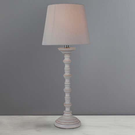 Kirby Wooden Table Lamp