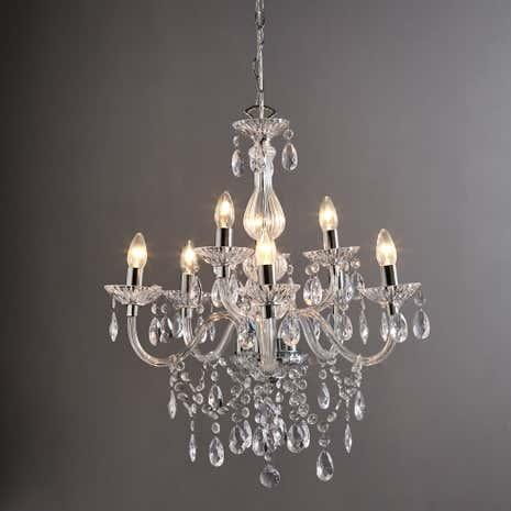 Bathroom Lights Dunelm chandeliers | hanging light fittings | dunelm