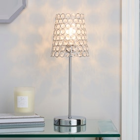 Selby Chrome Table Lamp