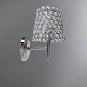 Selby Chrome Wall Light