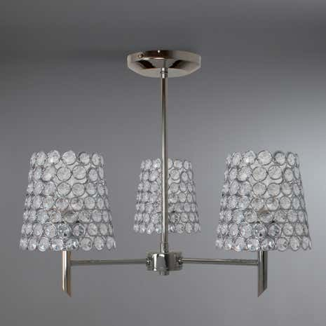 Selby Chrome 3-Light Ceiling Fitting