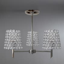 Selby Chrome 3 Light Ceiling Fitting